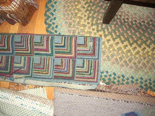 hooked and braided rugs