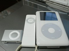 I have three iPods.