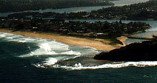 north narrabeen aerial