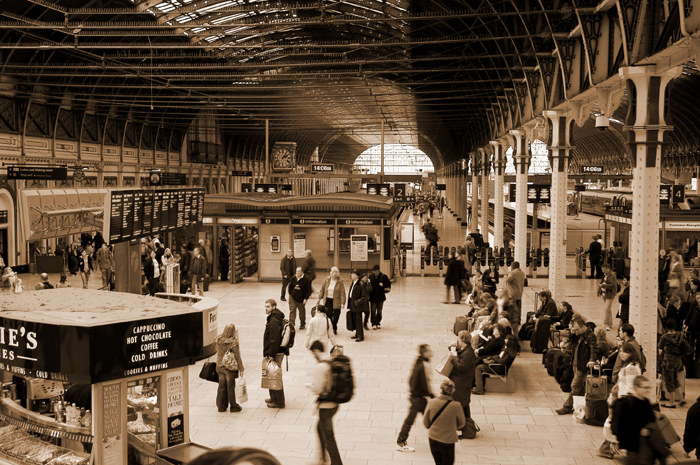 Paddington Station :: Click for previous photo