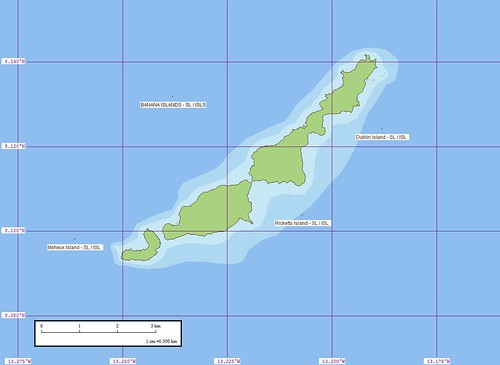 Banana Islands - Marplot Map N-28-05_2000 (1-50,000)