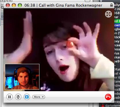 gina webcam