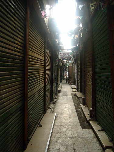 Street of Closed Markets