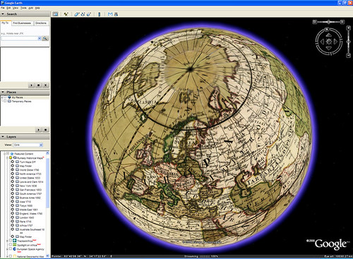World Globe 1790