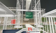 PA's facility in Second Life
