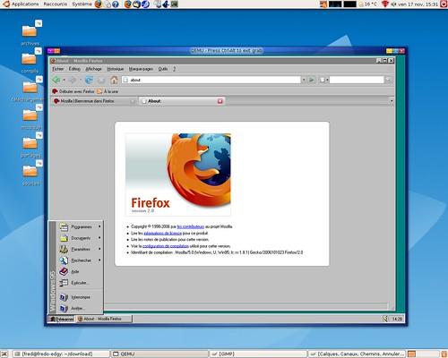 Firefox 2.0 et windows 95...