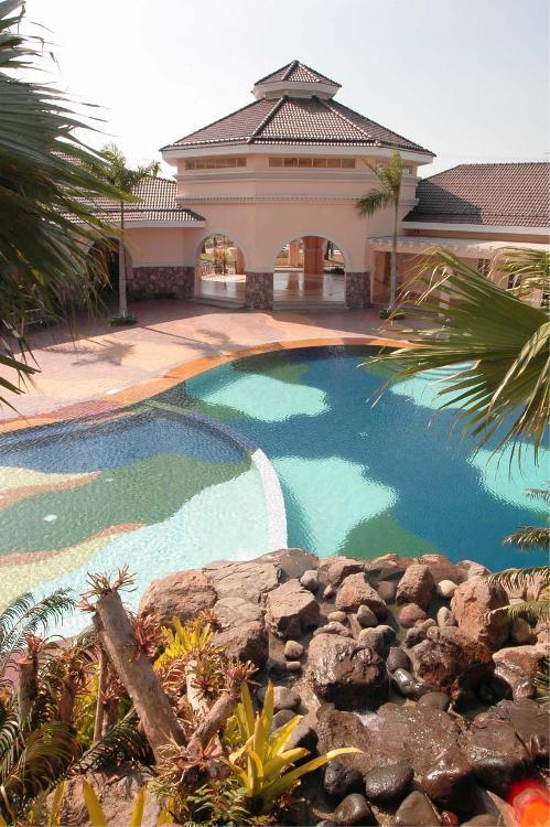 South Villas pool