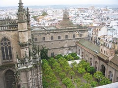 5502f Giralda Tower view of Cathedral