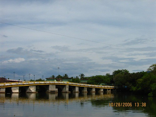 Panjim, city old bridge