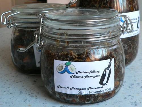 Prune & Armagnac mincemeat