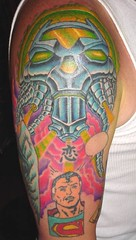 TATTOO Brainiac AFTER3