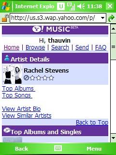 Yahoo! Mobile Music