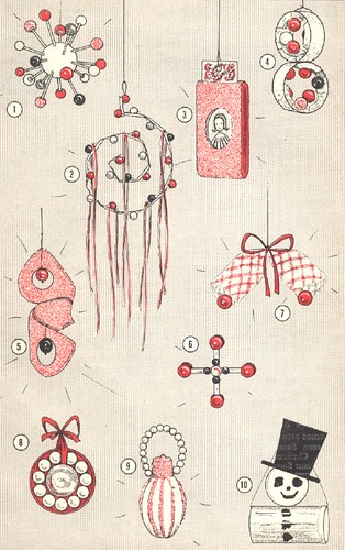 recycled ornaments, 1964
