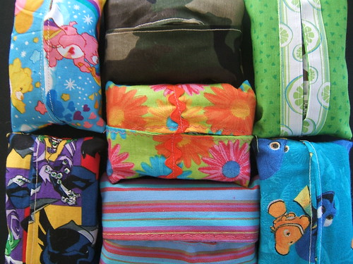 tissue holders for charity