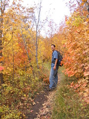 Me on the trail