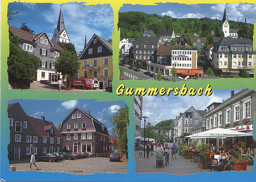 Hasbu's Postcrossing Blog: From Gummersbach, Germany