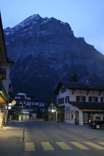 Dusk in Grindelwald