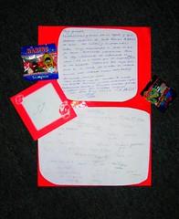 Carta para mi!