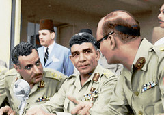 Presidents Naguib and Nasser
