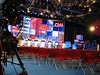 View from the floor of the debate