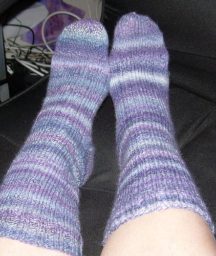 finished Trekking socks