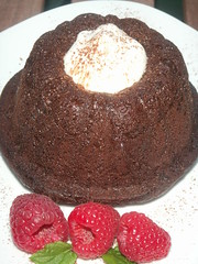 chocolate rum babas