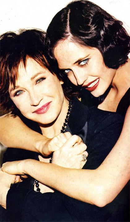 Marlène Jobert et Eva Green