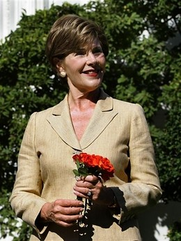 Laura Bush Rose Bush