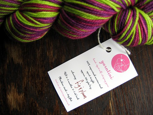 Yarntini Fig and Plum Colorway 003