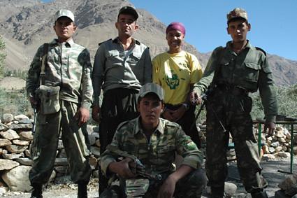 Tajik Passport Control & Me