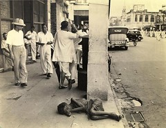 Famine of 1943, Calcutta photo by Brajeshwar