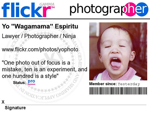 My Flickr Badge!