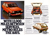 Austin Mini Metro Advert