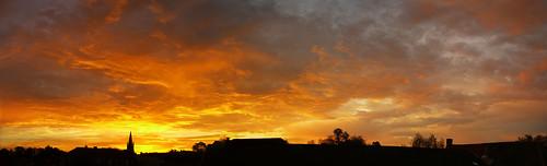 Sunrise in Bruges