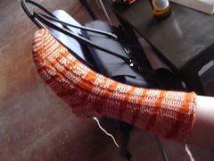 Cristina's Longhorn sock