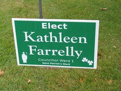 Municipal Election Sign 30