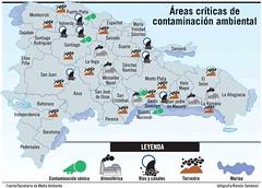 Areas criticas de contaminacion ambiental