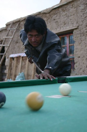 Got it! Pool in Moincer, Tibet.