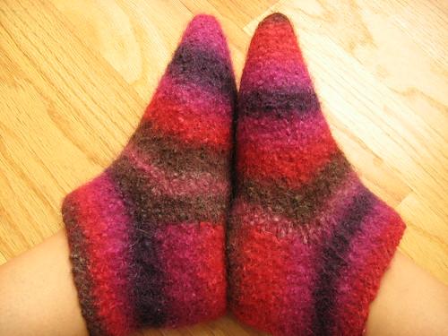 Warm toes, warm heart