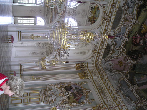 Inside Nymphenburg Palace