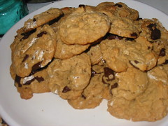What's left of the cookies