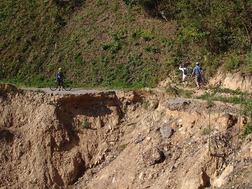 road slide