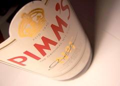 pimm's.