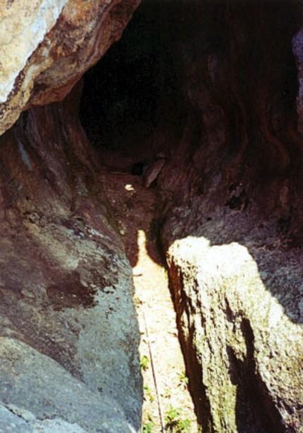 El stripper de la cueva masculina