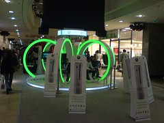 XBOX360 Demo station in Budapest