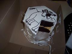 1 month anniversary cake