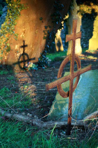 Celtic Cross, St. Michael (c) 2006 C.E. Murphy
