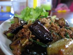 Eggplant and pork