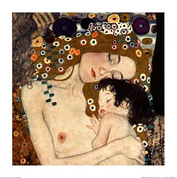 Le tre età della donna (particolare) - Gustav Klimt