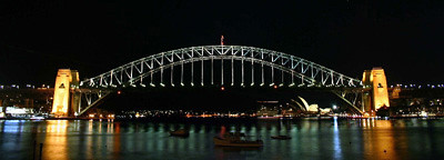 Harbour Bridge from Blues Point